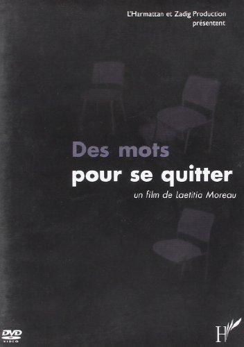 Des Mots pour Se Quitter (DVD)