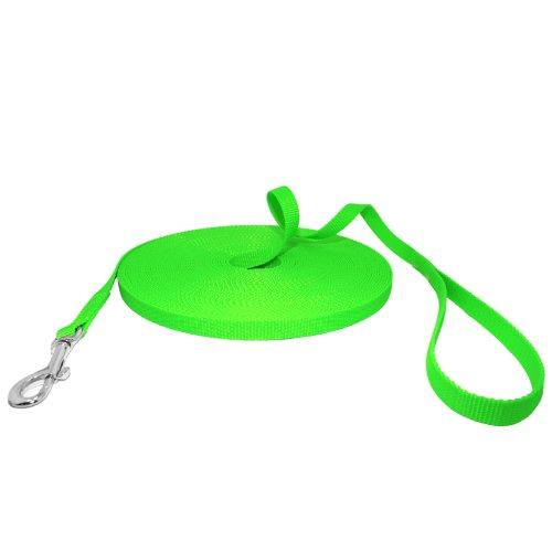 Hunde Design Robuste Neongrün Schleppleine Größe 10m