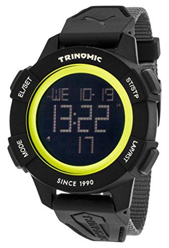 Puma Time PU911271001 - Montre Quartz - Affichage Digital - Bracelet Nylon Gris et Cadran Gris - Homme