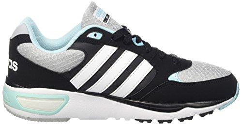 Adidas Cloudfoam 8Tis W, Scarpe da Corsa Donna Multicolore (Clonix/Ftwwht/Bluzes)