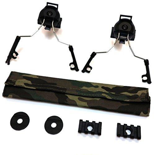 Kommunikation Ersatzteile Produkt Z-Tactical Helm Schienenadapter Set für Comtac I / II-Headset schwarz
