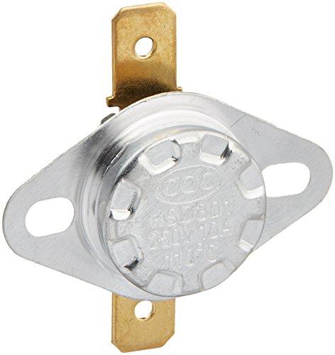 5pcs 110C 230F NC normal Cerrar Temperatura del termostato interruptor térmico KSD301