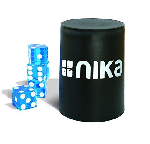 nika Dice Stacking Basic Set Blue - Stacking-würfel