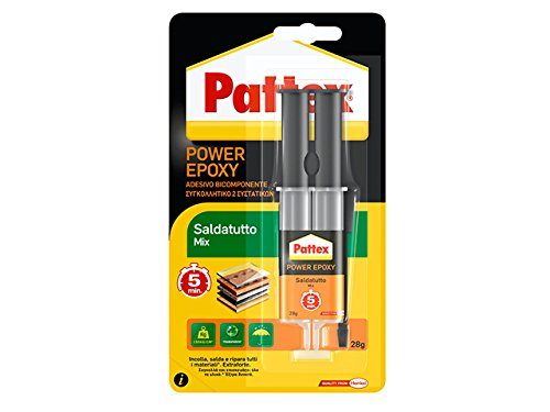 Pattex 1478701 saldatutto mix siringa, 28 g