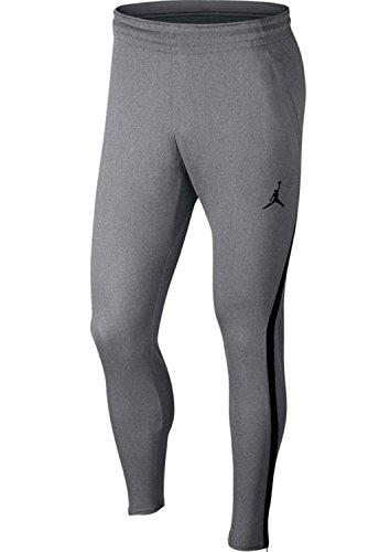 Nike 23 alpha dry 889711-091, pantalone uomo, grigio/nero,m