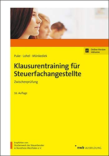 Klausurentraining für Steuerfachangestellte: Zwischenprüfung