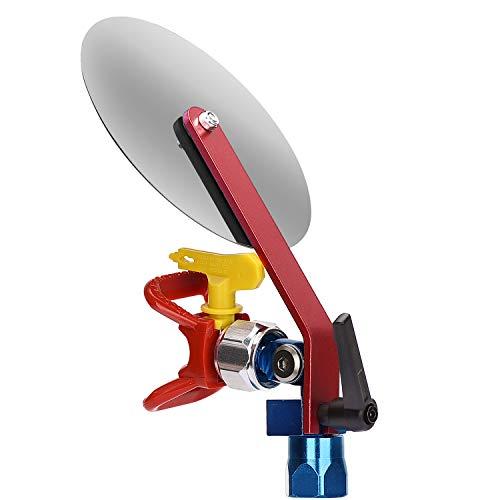 Jajadeal Spritzführungswerkzeug für Airless Farbspritzpistole, Zubehör Werkzeug mit 517 Spritzdüse und Düsenschutz für die meisten 7/8 '' Airless Drucksprühgerät Spritzgerät