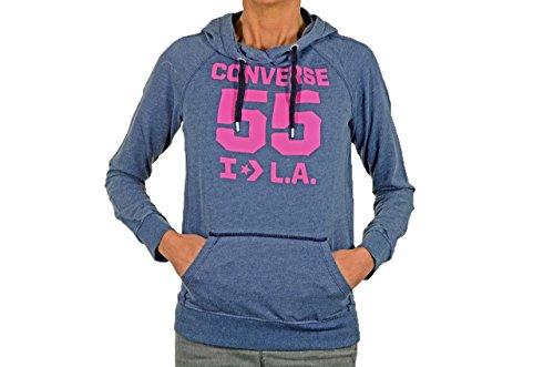 Converse 55 L.a. Felpe Nuovo Abbigliamento Donna Blu/Fuxia