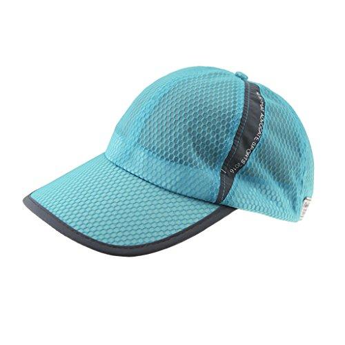 Unisex Sommer-Breathable Mesh-Baseballmütze Sport Baseballmütze Outdoor-Sport-Kappe schnelltrocknend Baseballmütze Mützen Caps