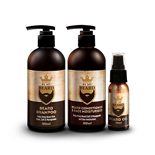 BY MY BEARD - Champú/acondicionador barba aceite