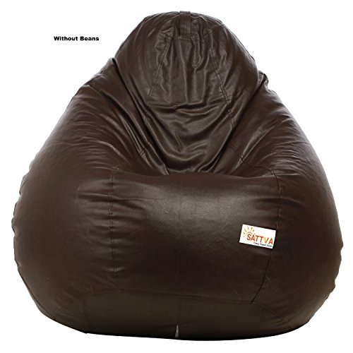Sattva XXXL Bean Bag without Beans (Brown)