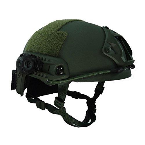 KSS Ops-Core Fast MH Typ Schutzhelm - Verschiedene Farben - Sturzhelm für Jagd Freizeit Militär - Unisex Camouflage Outdoor Integrated Tactical Helm