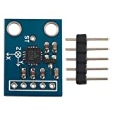 GY-61 Ad alta precisione Mini formato ADXL335 3-Axis Accelerometro Modulo trasduttore angolare Uscita analogica per Arduino - Blu e nero