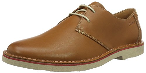 clarks-originals-jareth-walk-zapatos-de-cordones-derby-para-hombre-marron-tan-leather-42-eu