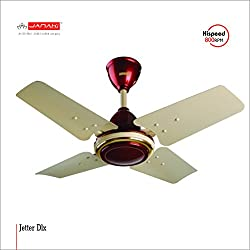 JANAKI JETTER 600mm Sweep Ceiling Fan (Metallic)