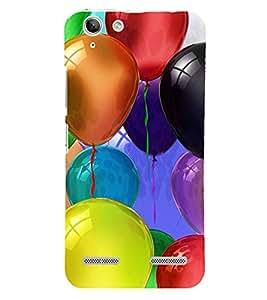 Colourful Balloons 3D Hard Polycarbonate Designer Back Case Cover for Lenovo Vibe K5 Plus :: Lenovo Vibe K5 Plus A6020a46 :: Lenovo Vibe K5 Plus Lemon 3