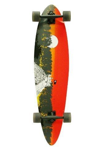 Quest 2012 Classic Longboard Skateboard (40-Inch) by Made in Mars