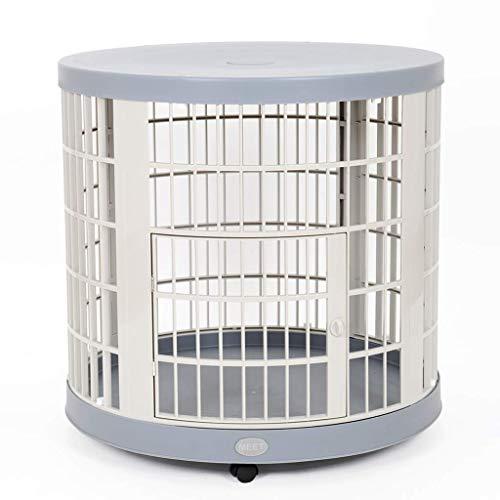Cage pour Animaux domestiques, Petit et Moyen Chien, Chiot, clôture de Lapin, clôture, Niche intérieure (77 * 77 * 76cm)
