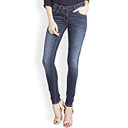 Park Avenue Woman Skinny Jeans (PWYA00207-B8_Dark Blue_91)
