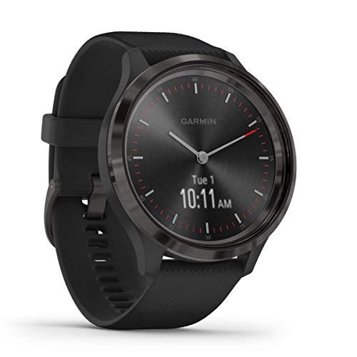 Garmin vívomove 3 - stilvolle Hybrid-Smartwatch mit analogen Zeigern & OLED-Display, Sport-Apps und Fitness-/Gesundheitsdaten, wasserdicht, 5 Tage Akkulaufzeit, Fitness Tracker, connected-GPS