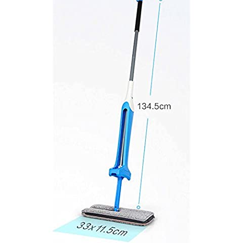 Fashion simple lazy flat MOP, rotating double-sided