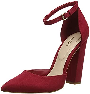 80cb5f07f26 Aldo Women s Nicholes Ankle Strap Heels  Amazon.co.uk  Shoes   Bags