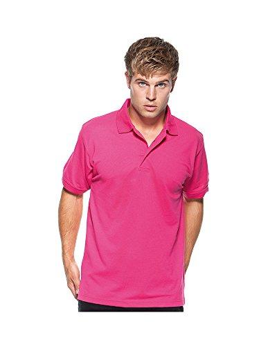 Kustom KitHerren Poloshirt Violett - Violett