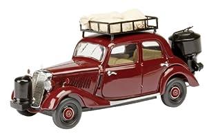 Dickie-Schuco Dickie de Dickie-Schuco 450243900 MB 170V con Madera Carburador 1: 43Sedan, Rojo