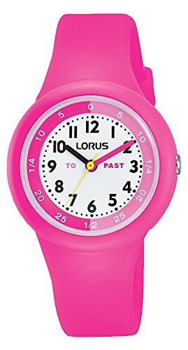 Lorus Unisex-Child Analogue Classic Quartz Watch with Silicone Strap RRX99EX9