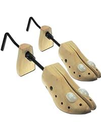 INDISCOUNT ® Paire d'Embauchoirs Extenseurs de Chaussures en Bois T. 39 à 44