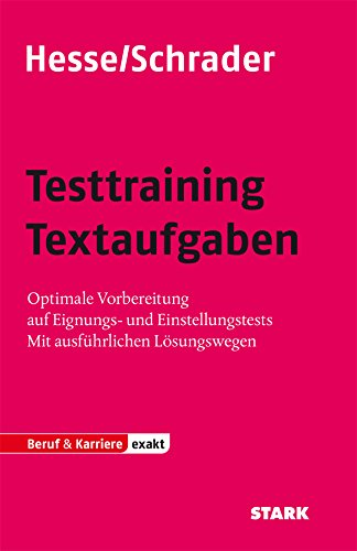 Abbildung: Hesse/Schrader: EXAKT - Testtraining Textaufgaben