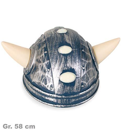 Wikingerhelm mit Hörnern für ()