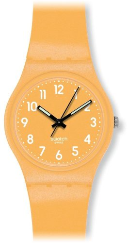 Swatch-GJ132-Reloj-analgico-de-cuarzo-unisex-correa-de-silicona-color-amarillo