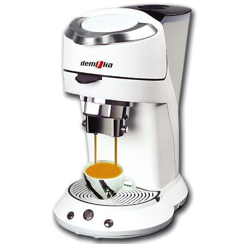 Moka SPM-009 - Macchina da caffè, colore: bianco