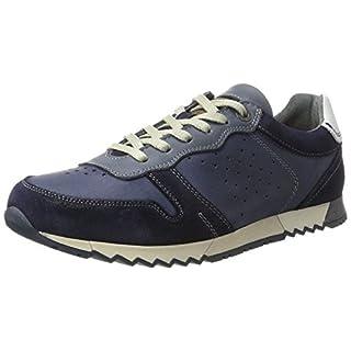 Australian Herren Denzell Leather Oxford, Blau (Navy), 42 EU