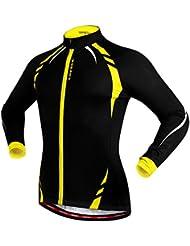 West Biking Veste coupe-vent à manches longues pour homme et femme Polaire thermique Pour Mountain Bike Cyclisme Extérieur