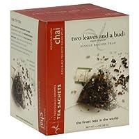 Two Leaves and a Bud Organic Tea Sachets Mountain High Chai -- 15 Tea Bags