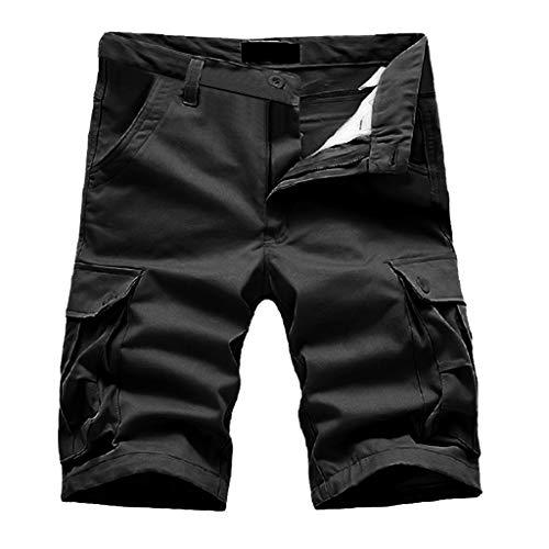 Toasye Herren Sommer Neue Baumwolle Multi-Pocket-Tooling-Shorts Overalls Shorts Mode Hose Kurze Hosen Arbeitskittel Shorts Shorts Fitness-Hosen Shorts Hosen -