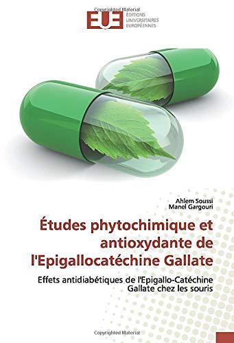 Études phytochimique et antioxydante de l'Epigallocatéchine Gallate: Effets antidiabétiques de l'Epigallo-Catéchine Gallate chez les souris