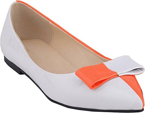 Salabobo - Sandales Compensées Orange Pour Femmes