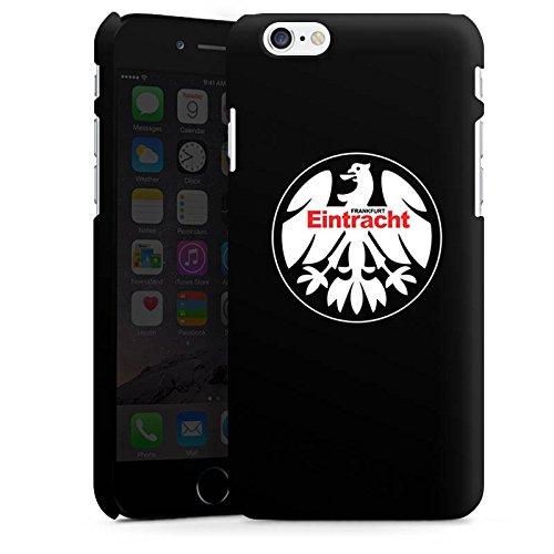 Apple iPhone 6 Plus Tasche Hülle Flip Case Eintracht Frankfurt Fanartikel Fussball Premium Case matt