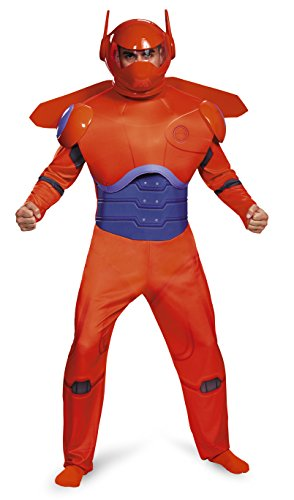 Big Hero 6 Red Baymax Deluxe Adult Plus Costume X-Large 42-46