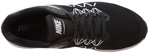 Nike Zoom Winflo 3, Chaussures de Running Entrainement Homme Noir