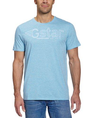 G-STAR Herren T-Shirt Climber Blau (solar blue - 2689)