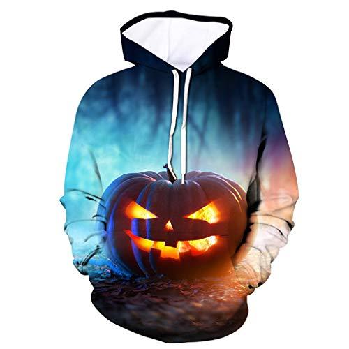 MOTOCO Unisex Realistic 3D Halloween Gedruckt Big Pockets Drawstring Pullover Hoodie Jumpers Damen Herren Hooded - China Kostüm Großhandel