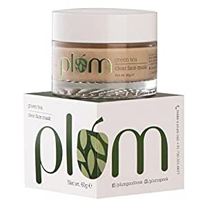 Plum Green Tea Clear Face Mask, 60g