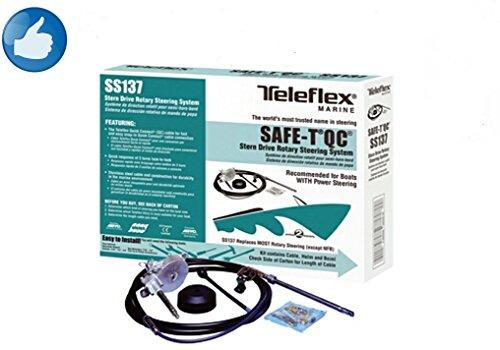 Teleflex Lenkung Safe-T QC kompl . ab 55PS bis 235PS Länge ab 1,83m bis 6,10