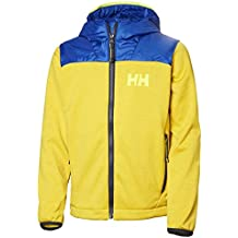 Helly Hansen Jr Hybrid Midlayer Graphite Blue (Kids)