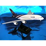 Skymarks SKR331 Thai Airbus A380-800 1:200 with gear 1:200 Snap-Fit Model by Skymarks