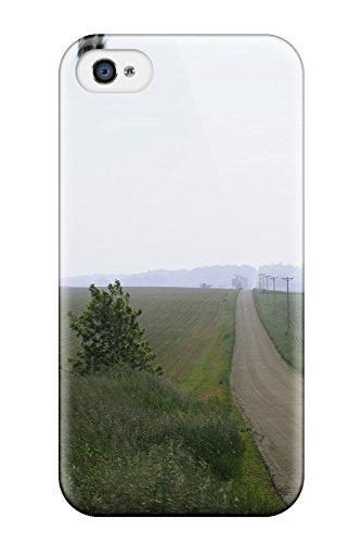 NEW Design shatterpr OOF pqnfmib7820qwmye Case for iPhone 4/4S (Dual Moniteur Zombie)